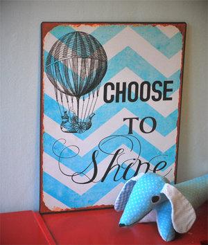 PLÅTSKYLT Choose to shine