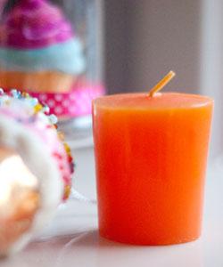 DOFTLJUS apelsin