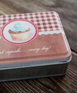 PLÅTBOX cupcake
