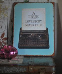 PLÅTTAVLA a true lovestory never ends..